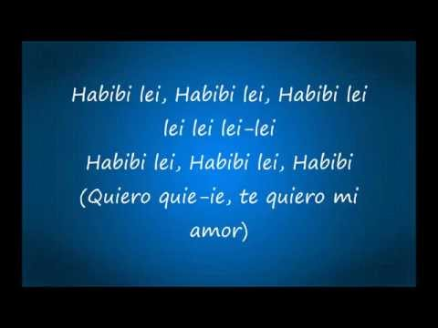 Habibi (I need your love) - lyrics