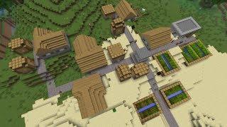 ¿Como encontrar una aldea en Minecraft? ( ͡° ͜ʖ ͡°) [2017]