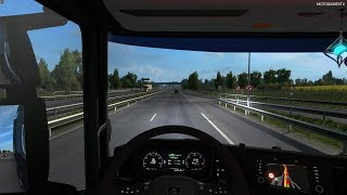 Euro Truck Simulator 2 - Goodyear Roll-Out Event - Rennes to Paris [4K 60FPS]