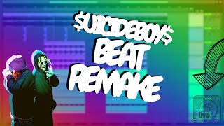 $uicideboy$ - Kill Yourself (Part lll) Ableton Instrumental Beat Remake
