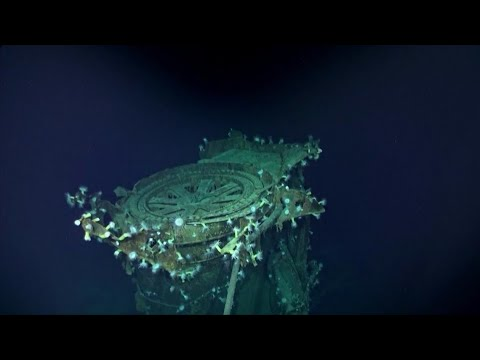 Sunken WWII Japanese Aircraft Carrier Kagan Discovered In Pacific