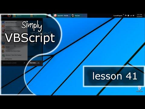 Vbscript Basics, Part 41 | Copy All Files In Subfolders - YT