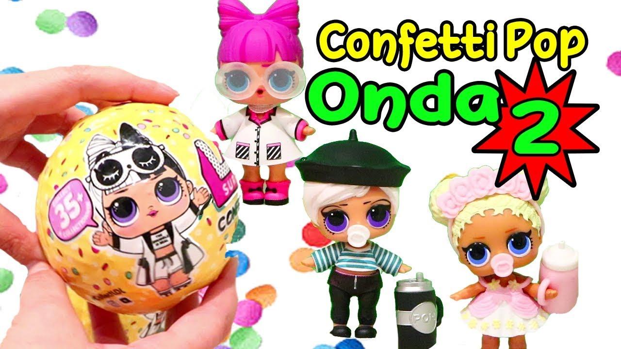 Novas Bonecas Lol Confetti Pop Onda 2 Bola Gigante E Lol Pets Brinquedonovelinhas