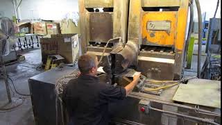 Automation International Federal F7 900 kVa Flash Butt Welder