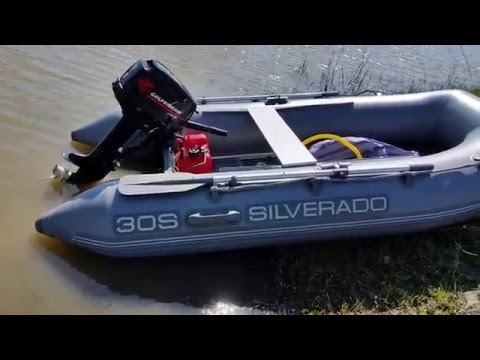 Лодочный мотор  Golfstream ( Parsun ) T 8 ВМ л.с. и Лодка SILVERADO 30S