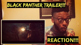 Black Panther Trailer (REACTION)!!!