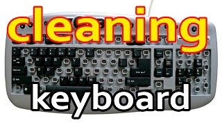 Cleaning keyboard  washing keys. Как почистить клавиатуру от пыли и грязи.