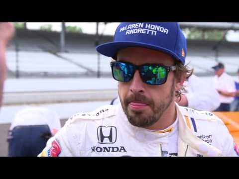 Fernando Alonso Day 3 at Indy: High Winds
