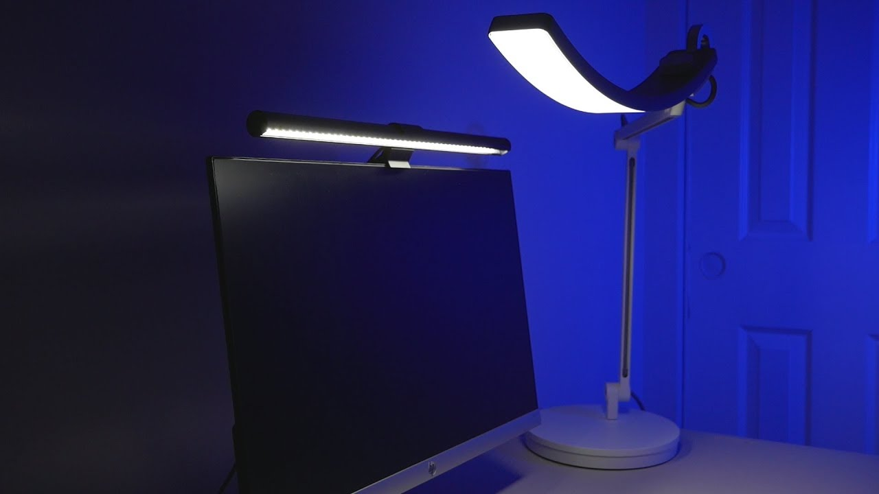 benq e reading desk lamp benq screenbar lamp review best desk rh youtube com