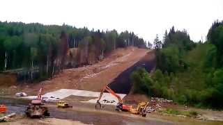 Прокладка газопровода через реку Усьва(, 2014-08-24T17:22:21.000Z)