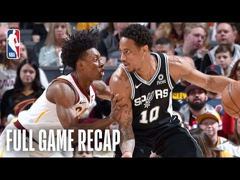 Bill Schoening - Spurs cruise to a win over the Cavaliers