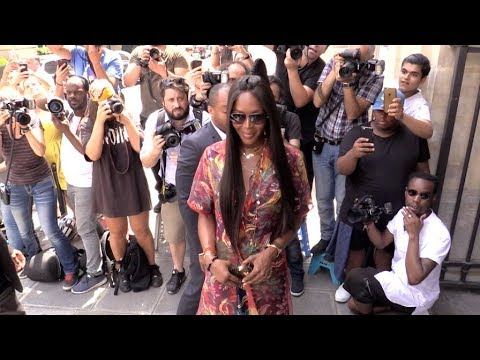Make Naomi Campbell, Tyga, Russell Westbrook and more at 2017 Menswear Louis Vuitton in Paris Snapshots