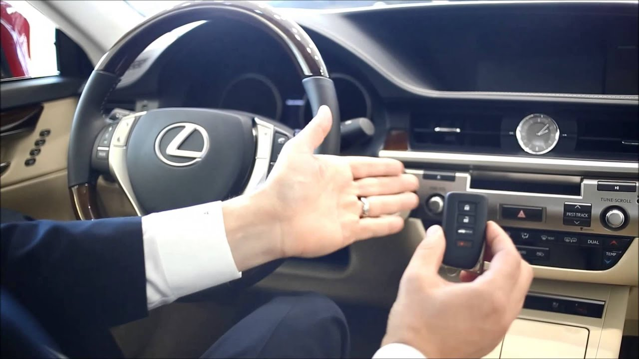 Lexus push button start problems