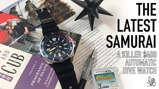 The Way Of The Samurai - The Best Seiko Automatic Dive Watch Under $400? - SRPB53 Prospex Review