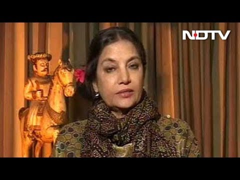 Padmavati Row A Failure Of Government, Political Strategy: Shabana Azmi