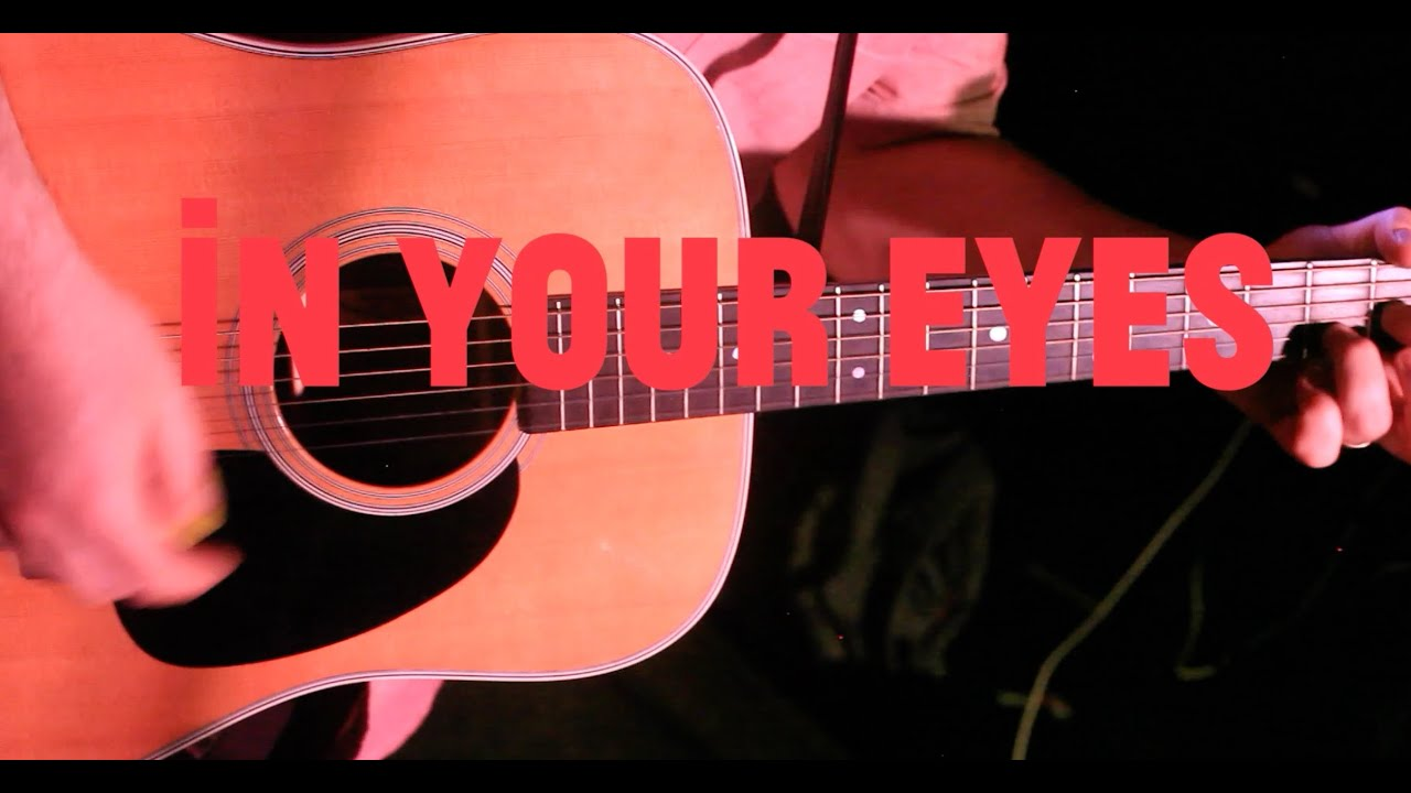 Peter gabriel in your eyes acoustic