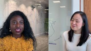 Priscilla Li and Aghogho Akponah on life in Capgemini's AIE