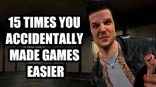 15 Times You Accidentally Made Games Easier