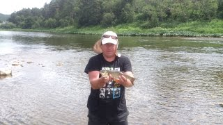 Рыбалка на головля на реке Ай в Челябинской области, часть10.