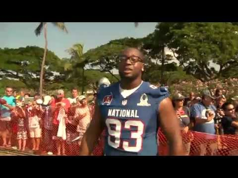 Gerald McCoy Wired at Pro Bowl Practice 2013