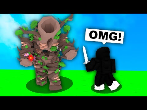 the most overpowered ELDERTREE in Roblox Bedwars..