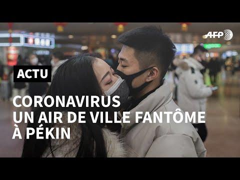 Opération ville morte: Pékin aux prises avec l'épidémie | AFP News