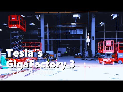 Tesla Gigafactory 3 shows remarkable progress as site gets graced by major gov't official