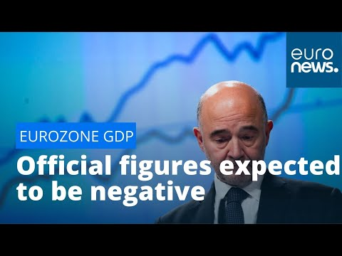 Eurozone GDP: Official Figures Set To Be Released Today Expected To Be Negative