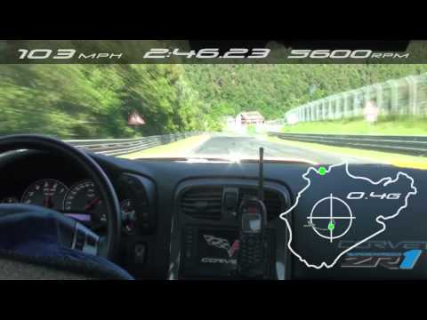 ► Corvette ZR1 returns to Nurburgring for new record (On Board)