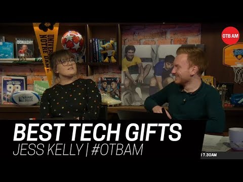 The Best Tech Gifts To Buy This Christmas | Jess Kelly | OTB AM