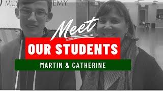 Martin & Catherine