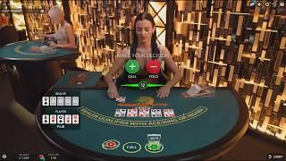 £2000 Start Live Dealer Casino Caribbean Stud Poker