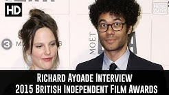 Richard Ayoade & Lydia Fox Interview - The 2015 British Independent Film Awards