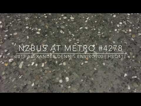 ADL Enviro200 #4278 | Grey Lynn to City | Driver view
