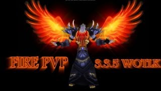 Fire Mage PvP 3.3.5 WoW - Cendo