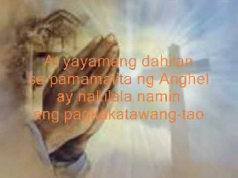 ANGELUS(Orasyon in Tagalog) WITH VOICE OVER