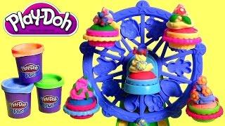 Play Doh Cupcakes Celebration Ferris Wheel - Play Dough Fiesta de Tortas - Carrousel des Gâteaux