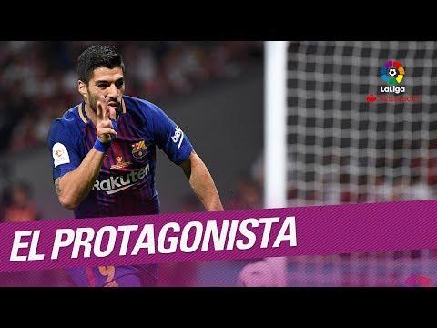 El Protagonista: Luis Suárez, jugador del FC Barcelona