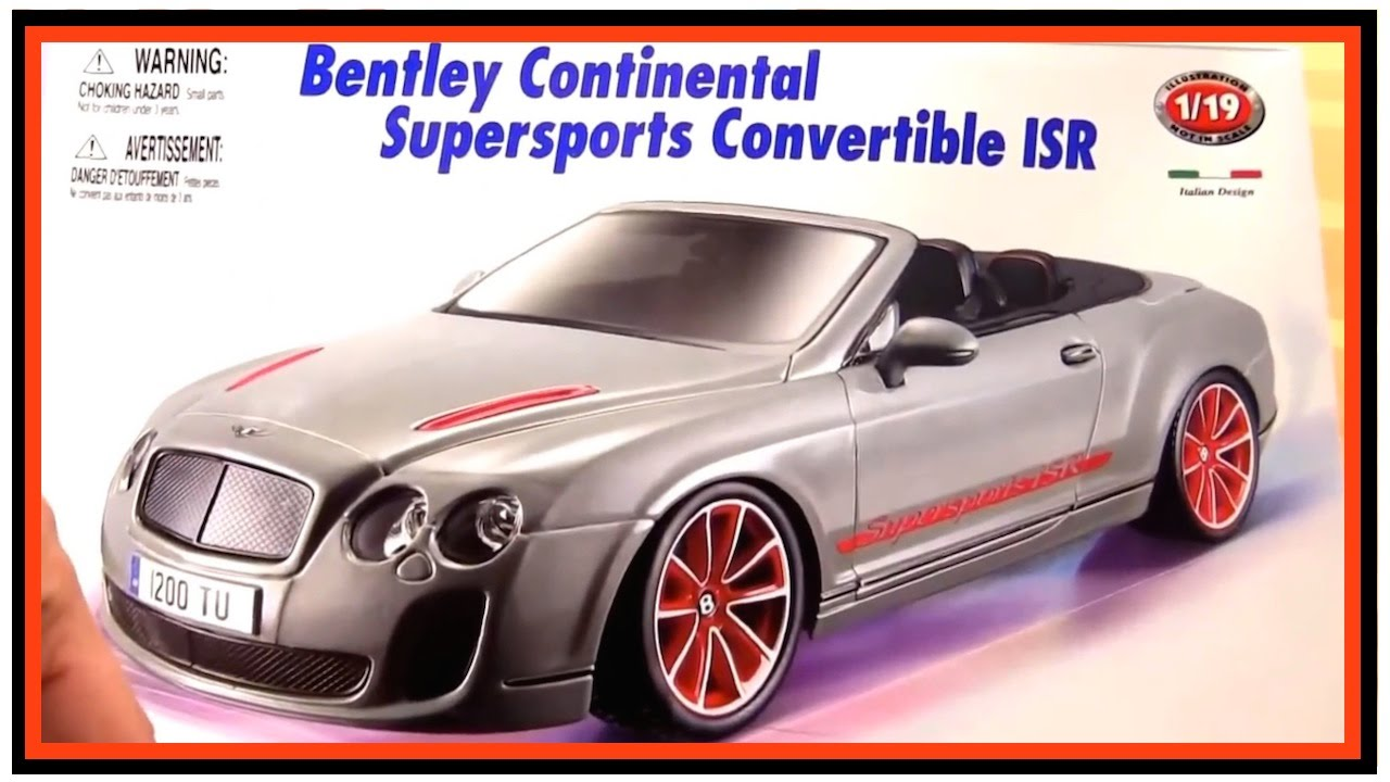 toy cars for kids bussy speedy build a famous english bentley bburago toy car construction youtube
