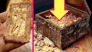 فرنسي محظوظ وَرث بيتا قديما عثر بداخله على كنز من الذهب !!