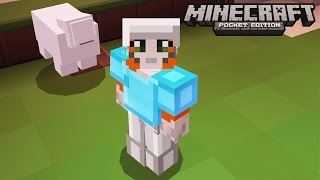 Minecraft: Pocket Edition - Ghost Sheep!  - No Home Challenge
