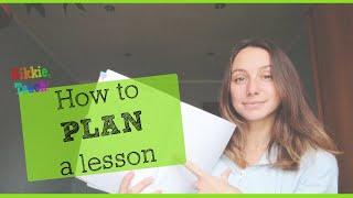 Planning a lesson | Структура урока и фишки для планирования