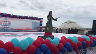 Юлия Руцкая выступила на Иссык-куле