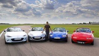 Comparatif Soheil Ayari - Quelle est la meilleure Mazda MX-5 ?