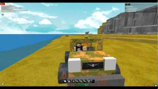 Self driving car glitch race on ROBLOX.wmv