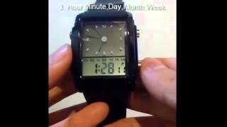 tutorial setting skmei 0814d1 watch