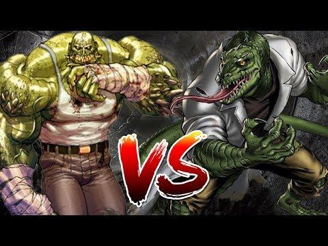 Killer Croc VS Lizard | BATTLE ROYALE