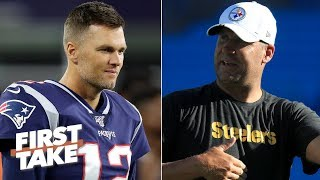 I have no faith in the Steelers on the road vs. the Patriots - Stephen A. | First Take