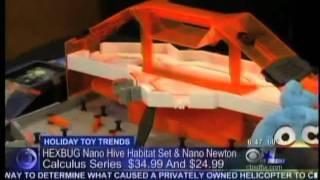 KTVT CBS 11 HEXBUG Nano Hive Clip