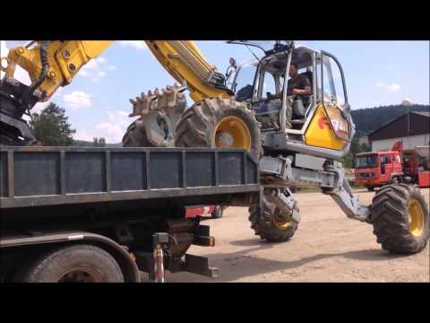 Menzi Muck A91 4X4 - transporting / STAVOPLAST KL